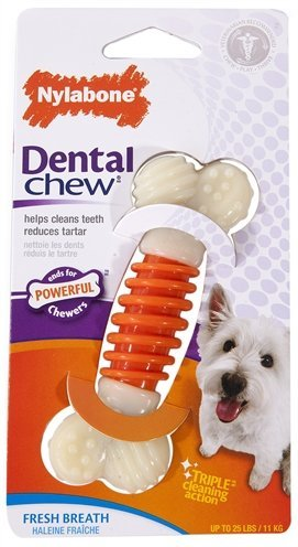 Nylabone dental chew baconsmaak