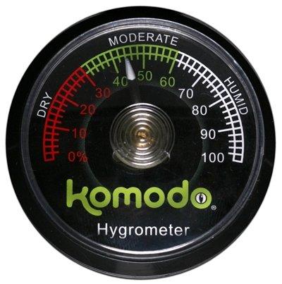 Komodo hygrometer analoog