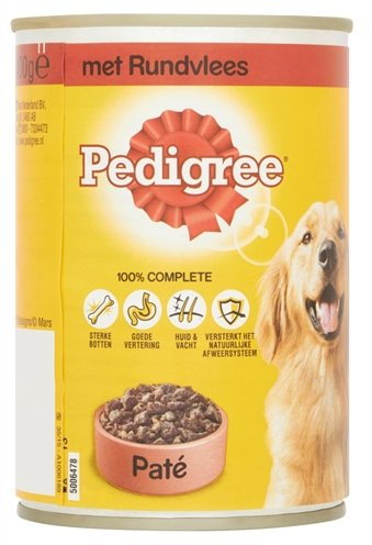 Pedigree blik adult pate rundvlees