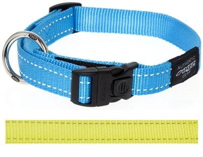 Rogz for dogs fanbelt halsband geel