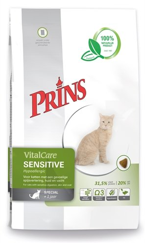 Prins cat vital care adult sensitive hypo allergeen