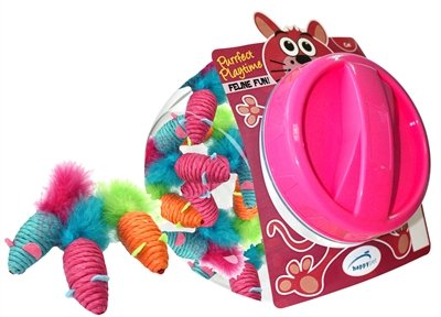 Happy pet carnaval muis display